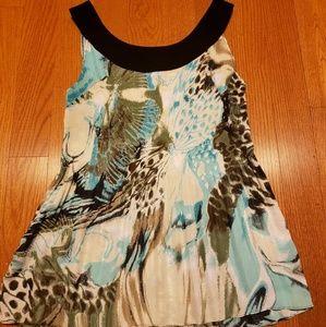 Beautiful sleeveless blouse